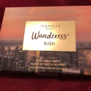 Wander beauty shadow palette Wanderess Rush
